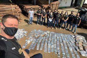 Polícia Civil realiza incineração de drogas em Mutum