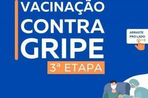 Vacina contra a gripe para novos grupos de pessoas em Manhuaçu
