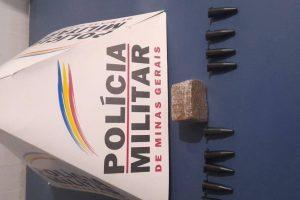 Drogas e arma apreendidas em Manhuaçu e na região