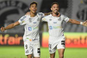 Atlético perde de 2 a 0 para o Santos