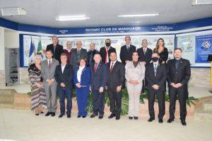 Rotary promove noite de posses de novas diretorias em Manhuaçu
