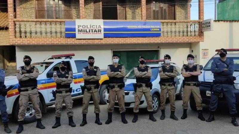 Lajinha: Operação Divisa Segura é realizada pela PM