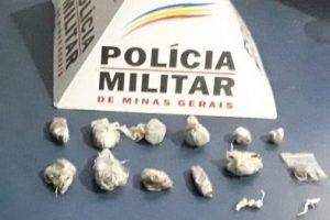 Mais drogas são apreendidas pela PM em Manhuaçu