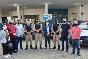 Inaugurado ponto de apoio da PM na rodoviária de Manhuaçu