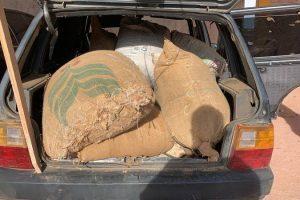 Prisões e recuperação de sacas de café na região