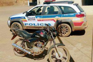PM recupera veículo produto de furto em Reduto