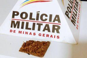 Drogas apreendidas em Manhuaçu e Reduto