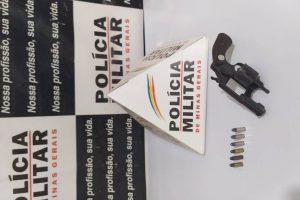 Região: Arma de fogo é apreendida em Lajinha; crime evitado