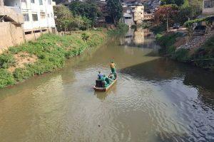 SAMAL inicia campanha para manter o Rio Manhuaçu limpo