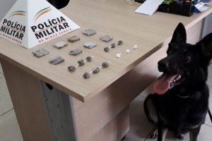 Plantão PM: Drogas apreendidas em Manhuaçu; Homem é agredido e sacas de café são roubadas na região
