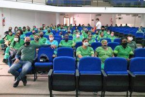 Palestra para servidores do SAMAL e discussão do Plano de Cargos e Salários