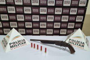 PM na região: Arma e drogas apreendidas na região