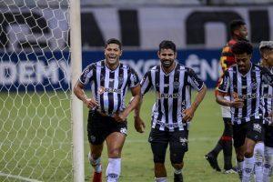 Atlético goleia o Sport e segue firme na liderança