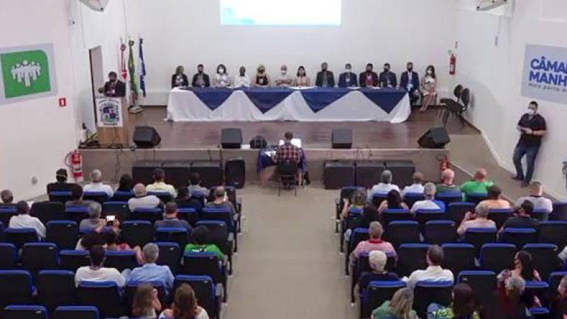Vereadores de Manhuaçu participam do Primeiro Congresso do Orçamento Participativo Digital