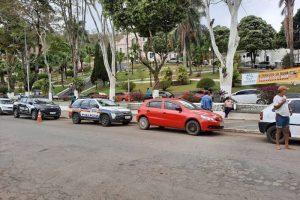 Blitz educativa é realizada pelas polícias em Espera Feliz