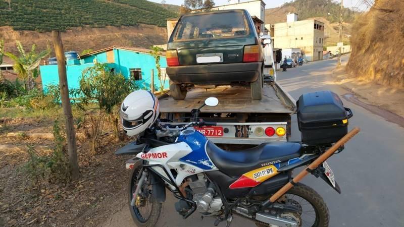 Plantão PM: Veículos recuperados e autor de roubo procurado