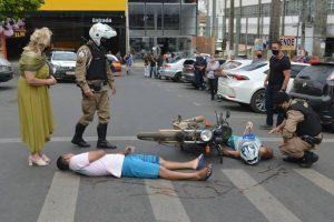 Encerramento da Semana Nacional do Trânsito movimente Manhuaçu