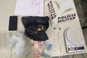 Plantão PM: Drogas apreendidas em Manhuaçu e Santa Margarida