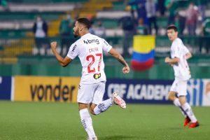 Atlético fica no empate de 2 a 2 com a Chapecoense