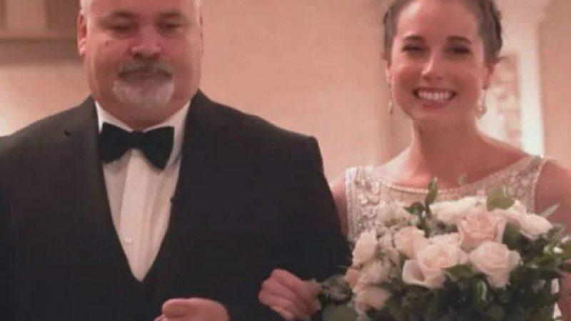 Noiva que recebeu transplante convida pai do doador para levá-la ao altar